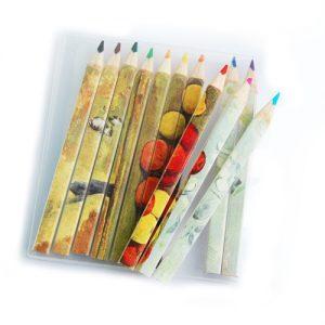 Set de 12 lápices de colores – pequeño