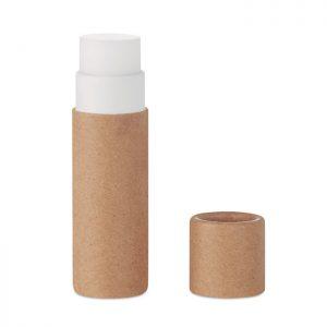Bálsamo labial natural en caja de cartón