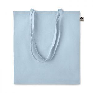Bolsa tote de algodón orgánico de Color