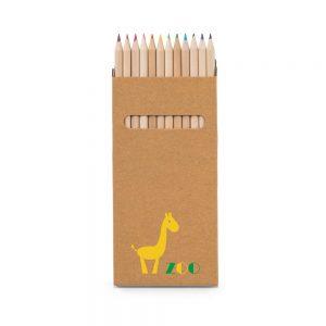 Caja con 12 lápices