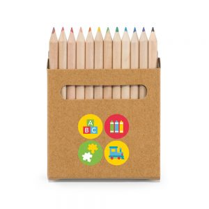 Box with 12 pencils