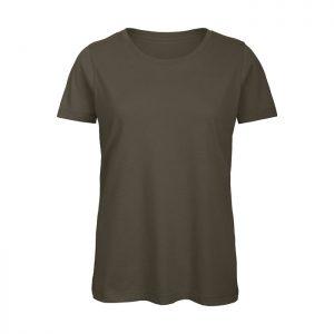 Camiseta de algodón orgánico Mujer Color