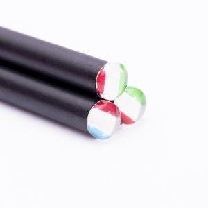 Lápices con terminación especial