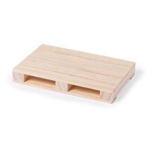 Mini palet de madera posavasos