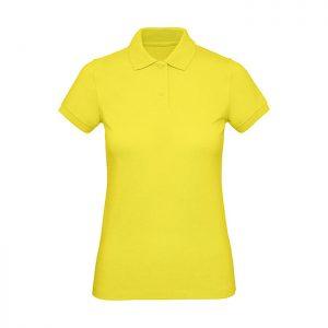 Polo de algodón orgánico Mujer Color