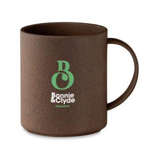 Taza de cáscara de café