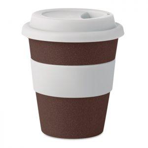 Vaso de cáscara de café