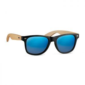 Gafas de sol con patillas de bambú
